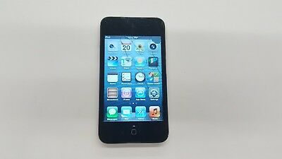 Apple iPod touch 4th Generation Black (32GB) Cracked LCD ...