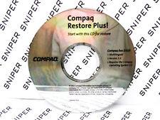Compaq Restore Plus! Evo D310 Driver PC CD Computer Disc 284446-B24