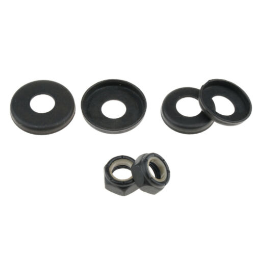 Prettyia Replacement Longboard Skateboard Bushings Washers Cup with Nuts