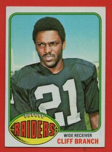 1976-Topps-173-Cliff-Branch-EX-EXMINT-Oakland-Raiders-FREE-SHIPPING