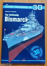 The Battleship Bismarck - Super Drawings in 3D - Kagero ENGLISH!