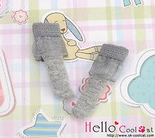 ☆╮Cool Cat╭☆【KS-A18】Blythe/Pullip(1/6 Doll)Lace Top Ankle Socks # Grey