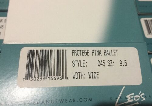 Leo/'s Toddler//Little Kid #045  Protege Ballet Flat Shoes Sz 6.5-3 full sole PINK