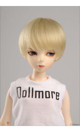 7-8 MSD Wig 7-8 inch 18-20cm 1//4 BJD DM Blond SG Short Cut Wig
