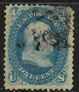 Sc-63-Franklin-1-Cent-1861-1862-Civil-War-US-11B85