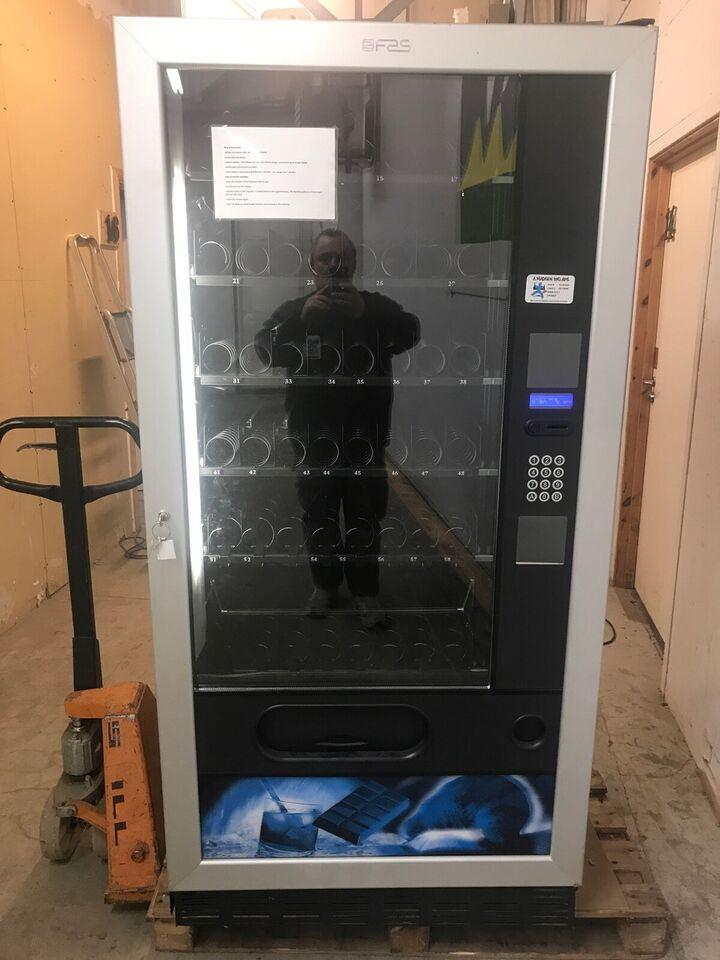 Slik og Sodavandsautomat
