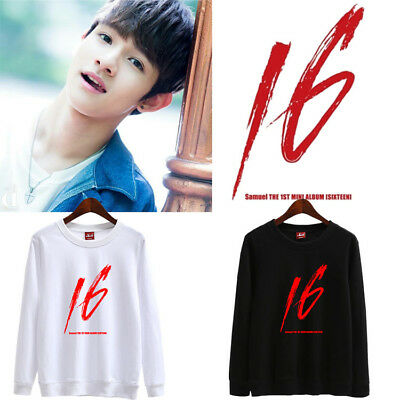 KPOP Produce 101 Kim Samuel Sweater Solo SIXTEEN Sweatershirt Casual D226