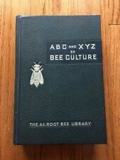ABC and XYZ of BEE Culture The A.I. Root Bee Library 1962 edition Hardcover