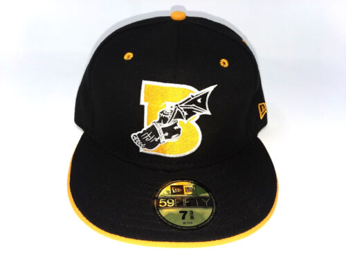 BODEGA x NEW ERA Achilles Heel 59FIFTY Fitted Wool Cap Hat Black 7 3//8 $45