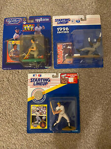 Lot 3 Starting Lineup 1998 Mark McGwire 1996 Kirby Puckett & 1991 Jose Canseco