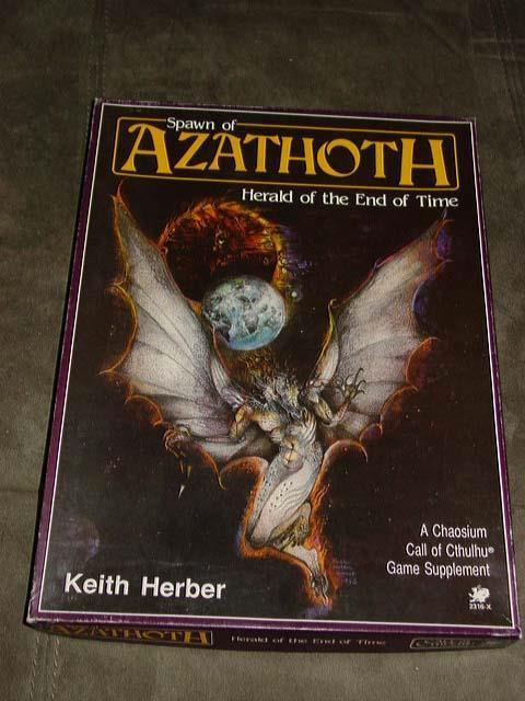 Chaosium - Spawn of Azathoth - Herald Of the End of Time - Call of Cthulhu