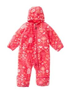 3460c853b Columbia Snowtop II Girls Bunting Snowsuit Pink Critters Size 3-6 ...