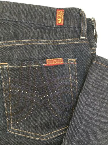 30 Wash Cut Mankind 7 Glitter A Size 883832942850 Boot All For Jeans Pocket Dark 7H7KqTA