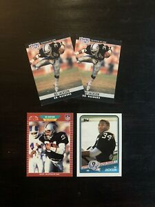Bo-Jackson-Football-Cards-Los-Angeles-Raiders