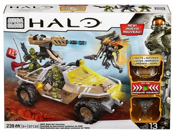 Mega Bloks Halo 97134 97134 97134 – UNSC Night Ops Gausshog b9718e