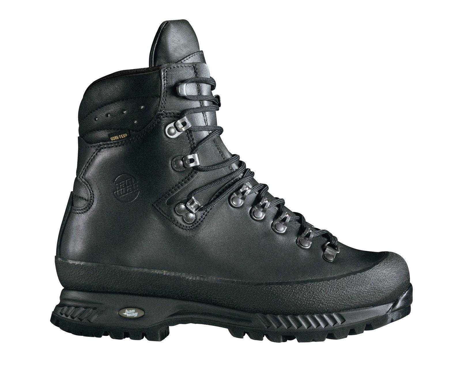 Hanwag Zapatos de Montaña: 8,5-42,5 Alaska GTX Men Tamaño 8,5-42,5 Montaña: Negro e37681