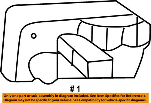GM OEM-Outside Exterior Door Handle Left 15742229