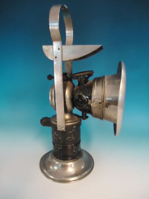 Rare carbide lamps collection on ebay antique carbide bicycle lamp 20th century mfg co 13 aloadofball Image collections