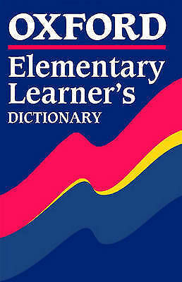 Oxford Elementary Learner's Dictionary, , Very Good Book