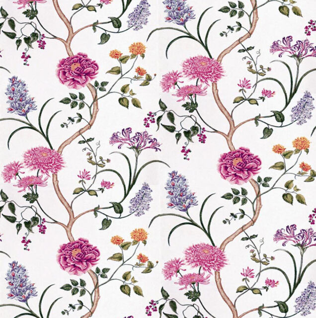 Dolls House Wallpaper 1/12th 1/24th scale Pink Quality Paper #31