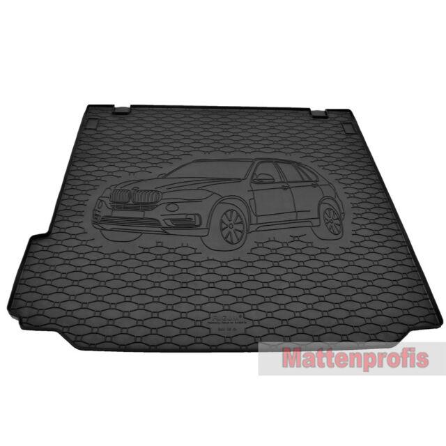 Fußmatten BMW X5 F15 Bj.2013 Original Qualität Velours Design 4x Klett Matte