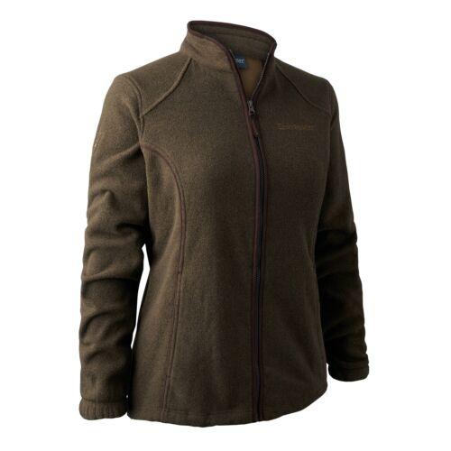 FREE £9 Sock Pack Deerhunter Lady Josephine Fleece Jacket Green Women/'s Hunting