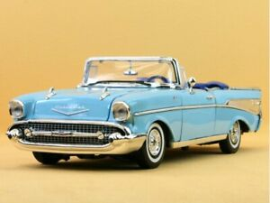 CHEVROLET Bel Air - 1957 - blue - MotorMax 1:18