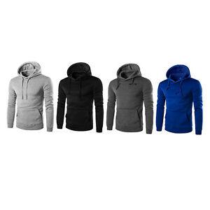 Mens-Hoodie-Sweat-Shirt-Casual-Jacket-Coat-Top-M-L-XL-XXL-Sport-Hoody-ON