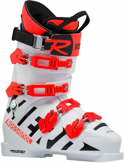 Boots Skiing Race Skiboot ROSSIGNOL HERO WORLD CUP 130 White