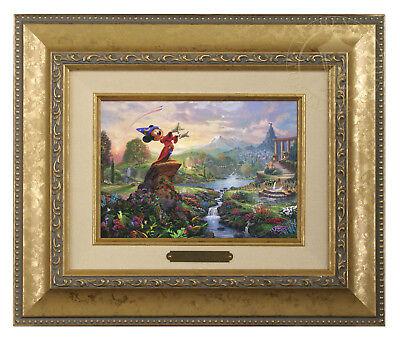 Brandy Frame Thomas Kinkade Studios Fantasia Framed Brushwork