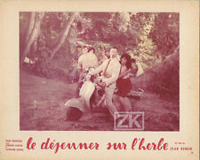 LE DEJEUNER SUR L'HERBE Jean RENOIR Vespa SCOOTER Meurisse Rouvel Photo 1959