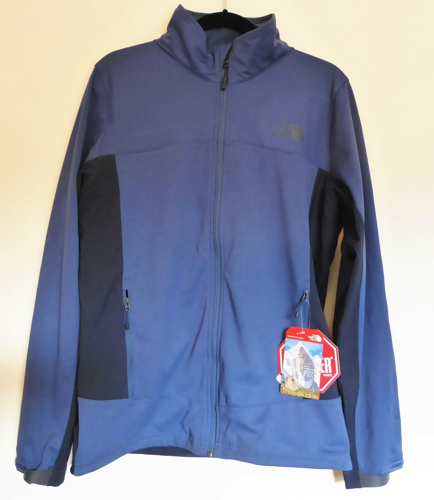 THE North Face Uomo Cipher Windstopper Hybrid Giacca Soft Shell Shady Blu M