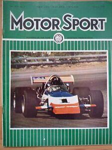 MOTOR-SPORT-FEB-1970-Radbourne-Fiat-Porsche-911S-Formula-Rally-March-Engineering