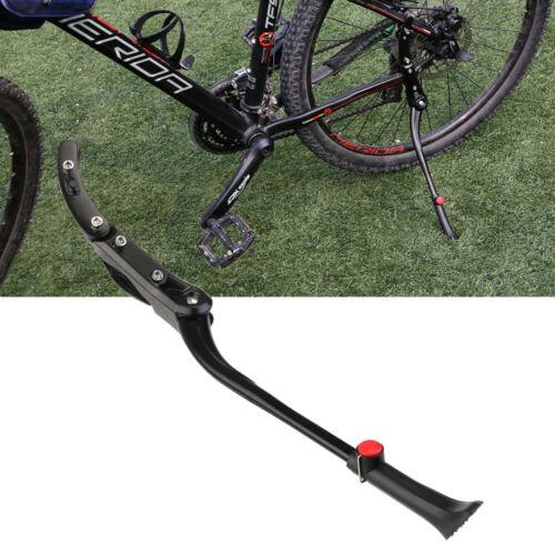 Fahrradständer Hinterbau Seitenständer Alu Fahrrad Parkstütze für 24-26 Zoll