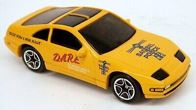 matchbox 1990s nissan 300zx amarillo dare policia auto 300 zx 2nd gen z32 1 58 ebay ebay