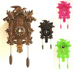 2017 Europea Cuckoo Clock House wall clock large modern art vintage ...