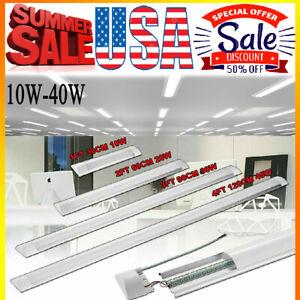 2FT 3FT 4FT LED Linear Batten Tube Light Bar Wall//Ceiling Mount Fixture Lamp 40W