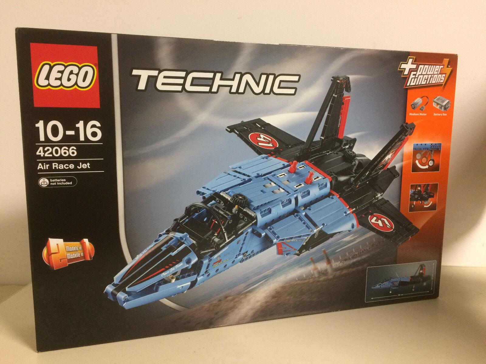 LEGO  TECHNIC 42066 AIR RACE JET JET DA GARA 2 in 1 + POWER FUNCTIONS new nuovo