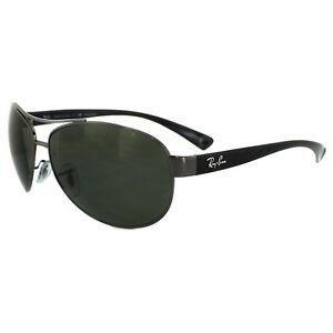96280cf373a4fb Ray-Ban Sunglasses 3386 Gunmetal Polarized Green 004 9A Small 63mm ...