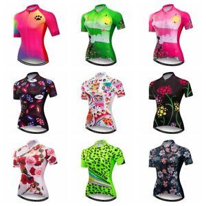 2018-New-Women-Cycling-Jersey-Bike-Short-T-shirt-Sportwear-Bicycle-Clothing-Tops