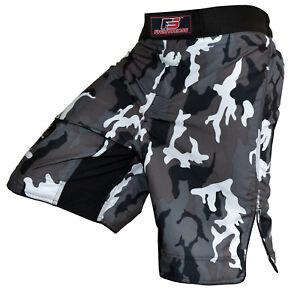 Fs Mma Combat Kick Boxing Shorts Ufc Cage Lutte Grappling Muay Thai Boxing Neuf-afficher Le Titre D'origine
