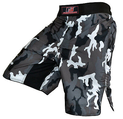 FIGHTSENSE MMA Fight Kick Boxing Shorts UFC Cage Fight Grappling Muay Thai BJJ