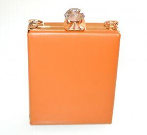 Borsa Pochette Beige Pochette F10 con Elegante cristallo Donna in pochette oro Cerimonia rqHrU