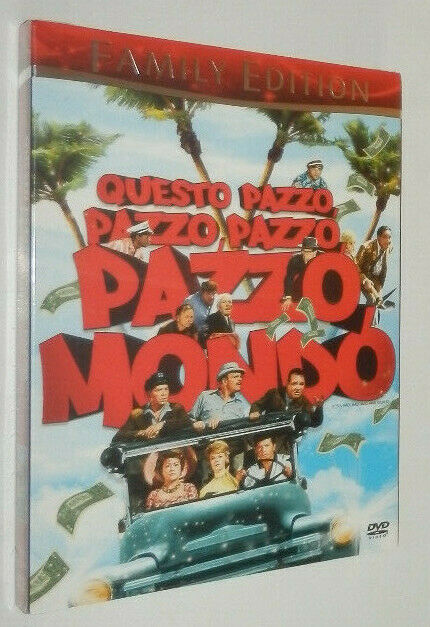 Stanley Kramer QUESTO PAZZO PAZZO PAZZO PAZZO MONDO (1963) dvd MGM --- SIGILLATO