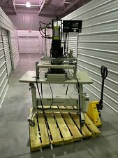 Stamprite Vt 10 12 Ton Air Hot Stamp Press With Got1000 Touch Control