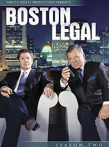 Boston Legal - Season 2 (DVD, 2006, 7-Disc Set) for sale online | eBay
