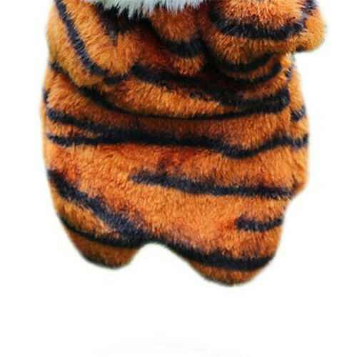 Animal Tigers Hand Glove Puppet Soft Plush Kids Role Play Hand Puppet Toys CB