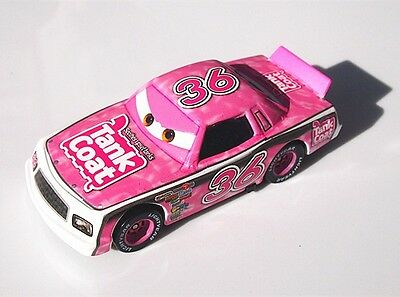 Mattel Disney Pixar Cars 1:55 NO.36 TANK COAT Diecast Racing Car Kid Toy
