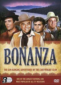 BONANZA - 3 DVD BOX SET - ADVE...