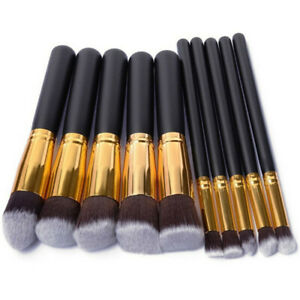 10Pcs-Makeup-Brush-Set-Cosmetic-Powder-Foundation-Brushes-Girl-Special-Gift-US